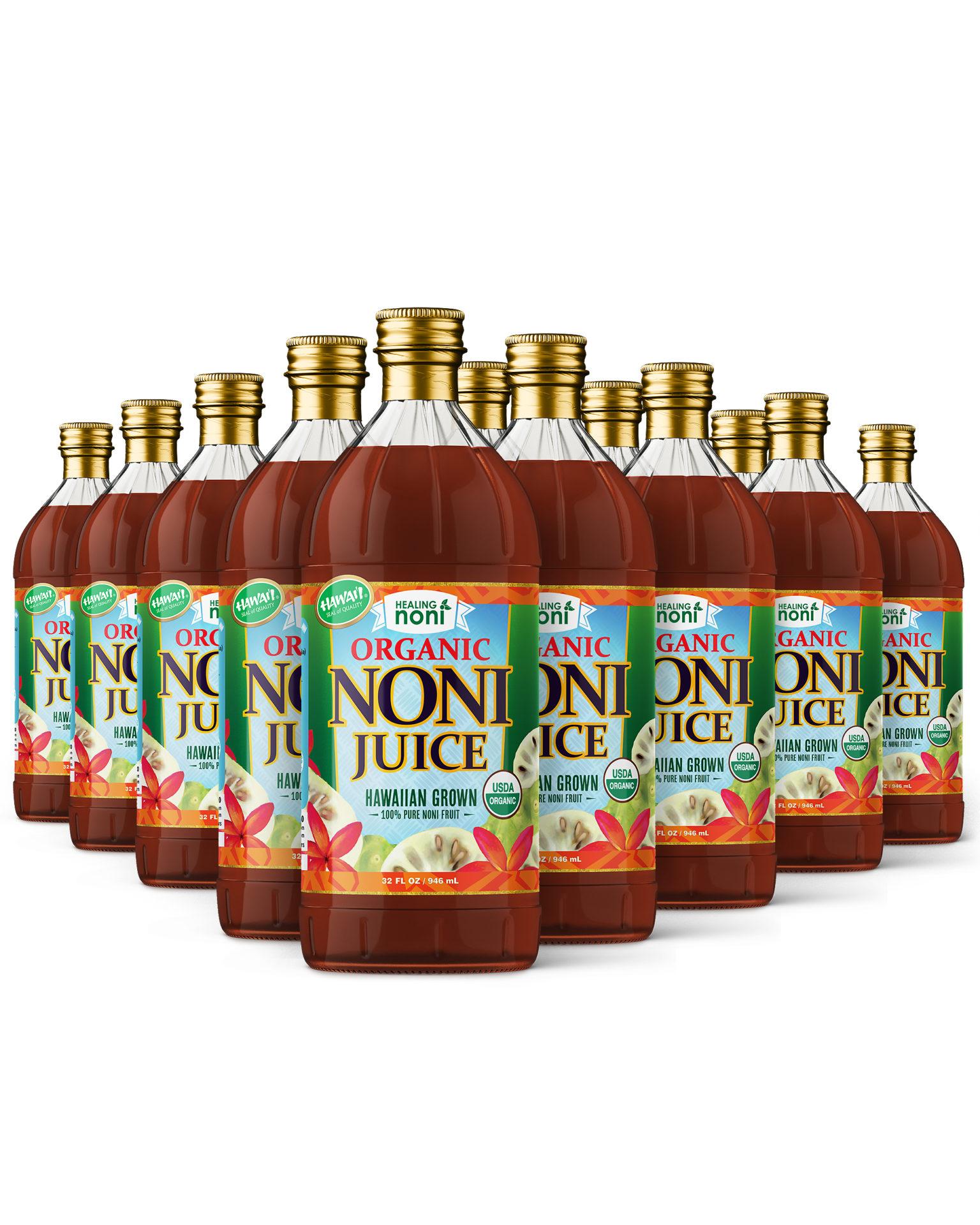 healing noni - USDA approved organic noni juice