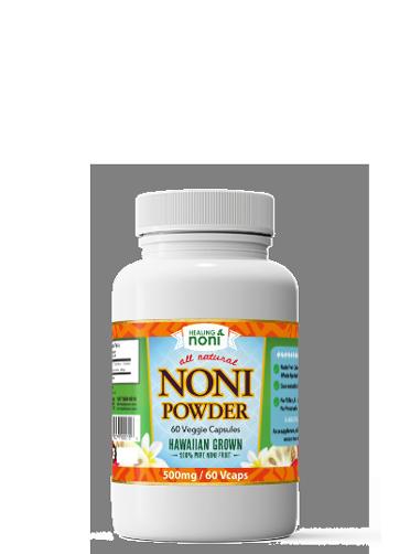 noni powder - dietary supplement