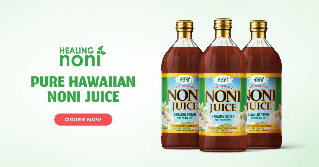 pure hawaiian noni juice