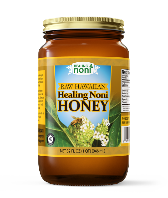 Healing Noni honey made from noni fruit